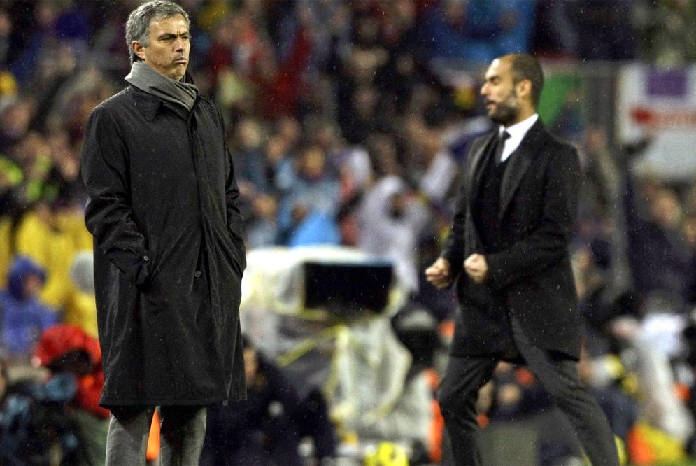 Mourinho_Guardiola_durante_ultimo_partido_Liga