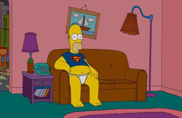 homer-simpson-superman-movie-watching