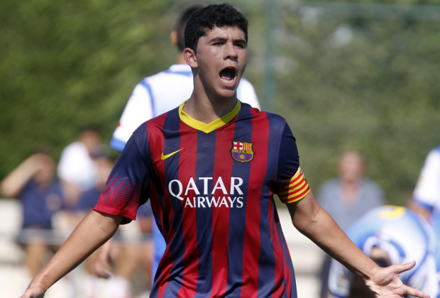 "FC Barcelona Cadete ""A""-Sabadell. Foto:PEP MORATA"