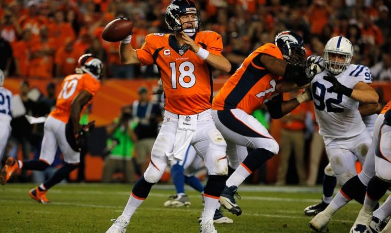 Manning no tuvo nadie que le incomodara en el pocket en el partido inaugural de la temporada ante los Colts. Si el domingo se repite la misma situación, los Broncos llegarán a la final de conferencia.