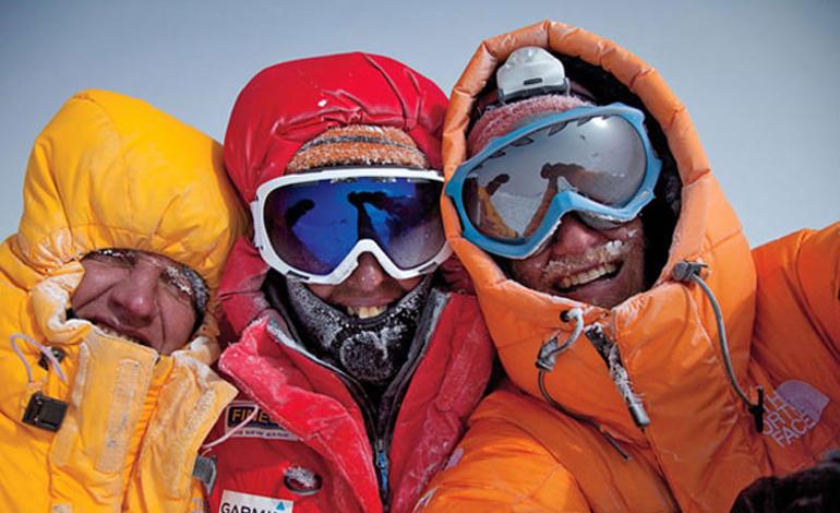Moro, Urubko, Richards Gasherbrum II