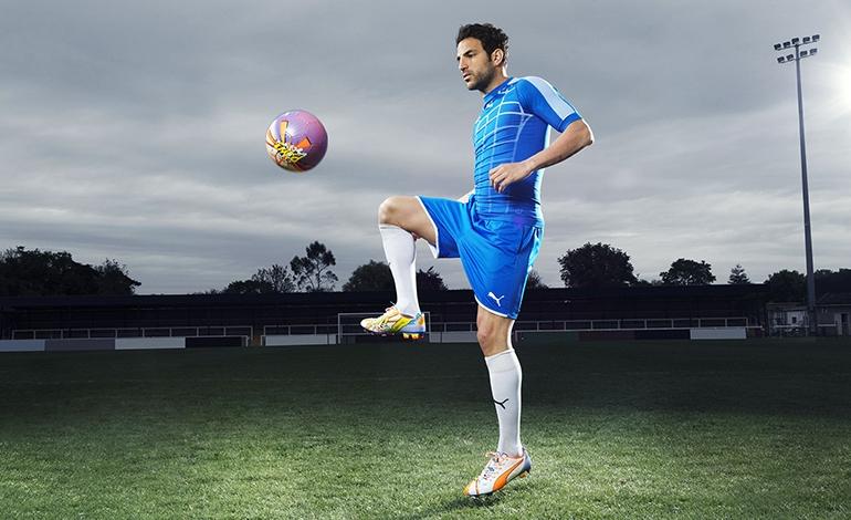 Cesc Fabregas Wears the New PUMA evoPOWER 1.2 Football Boot_2 (2)
