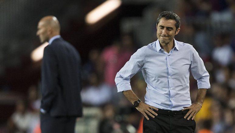 Zidane desnuda al Barça