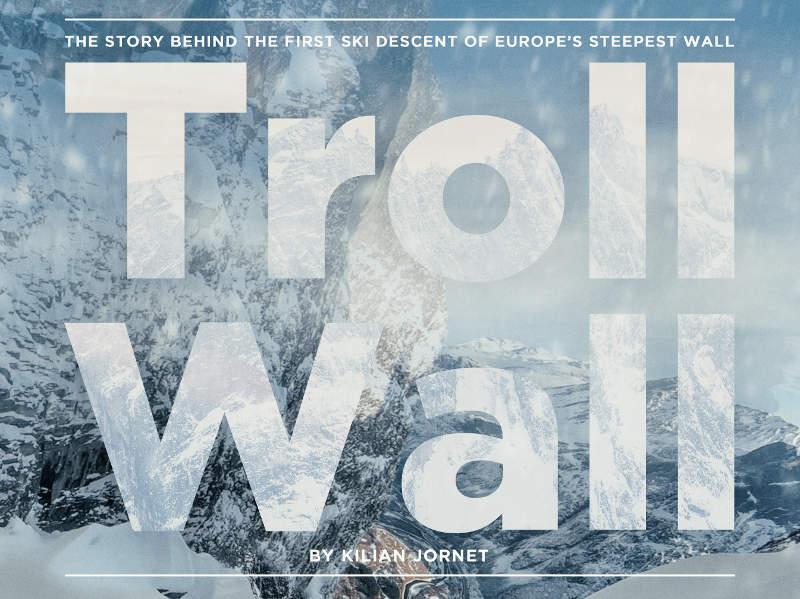 troll wall kilian jornet