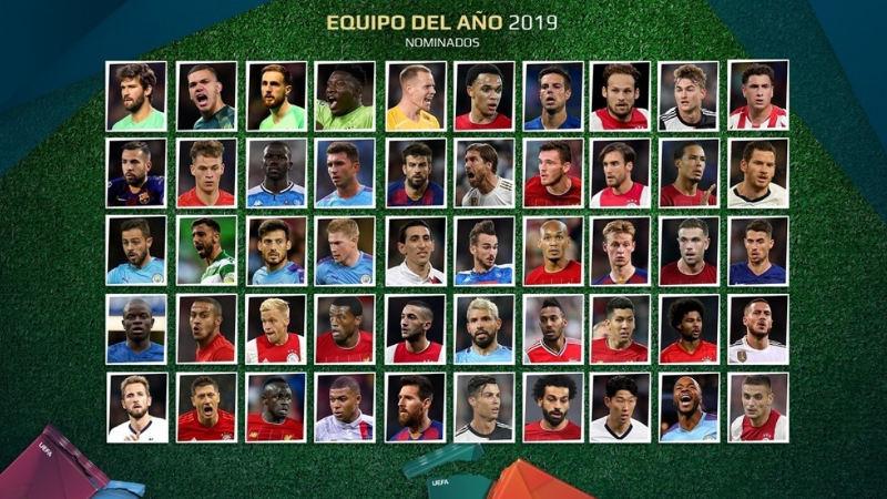 Arranca la votación para el Equipo del Año de UEFA