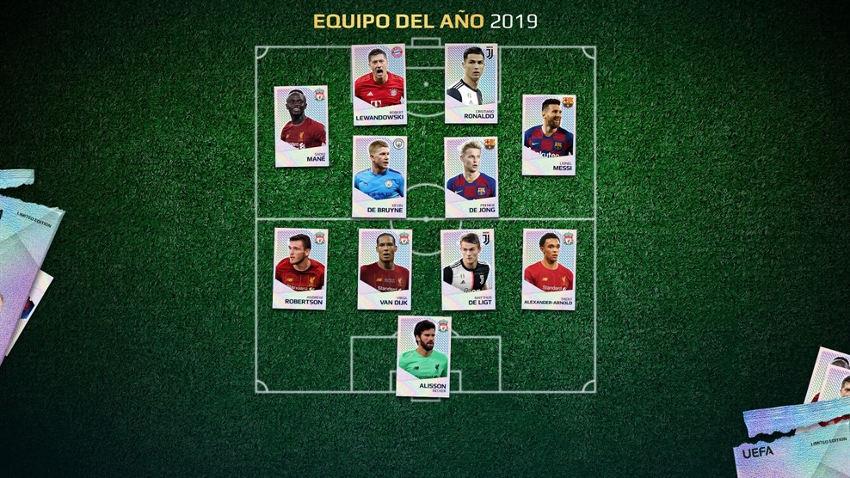equipo del año uefa