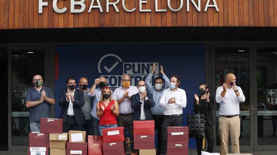 FC Barcelona Josep Maria Bartomeu moción de censura
