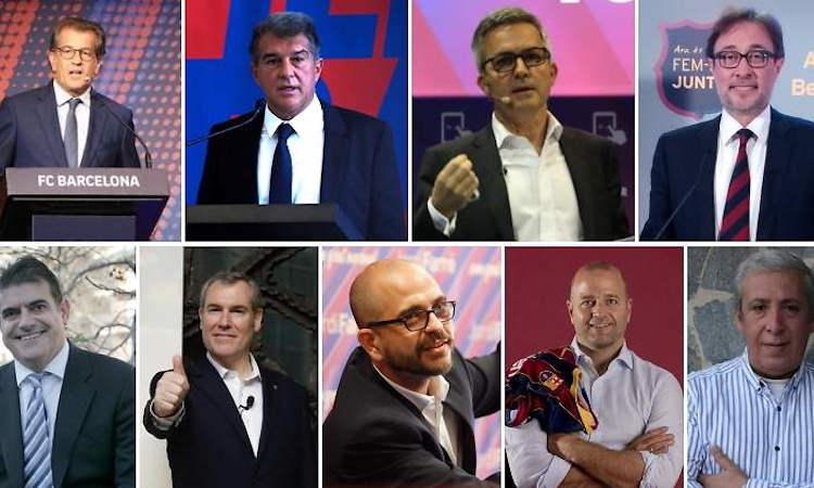encuesta elecciones FC Barcelona la portera de núñezlaporta font freixa farré