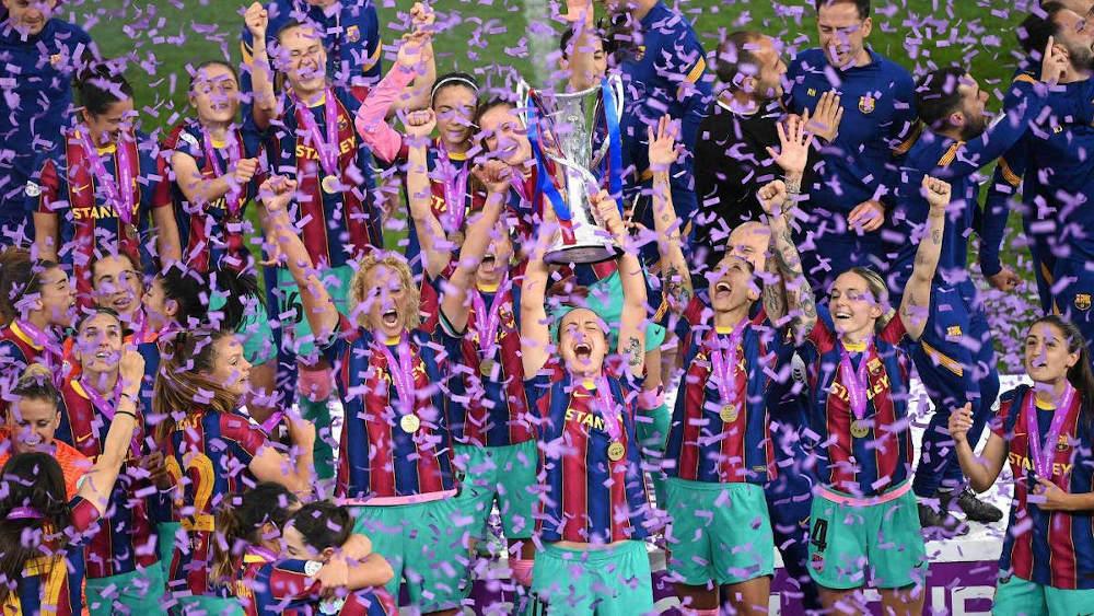 fc barcelona futbol femenino campeonas champions league