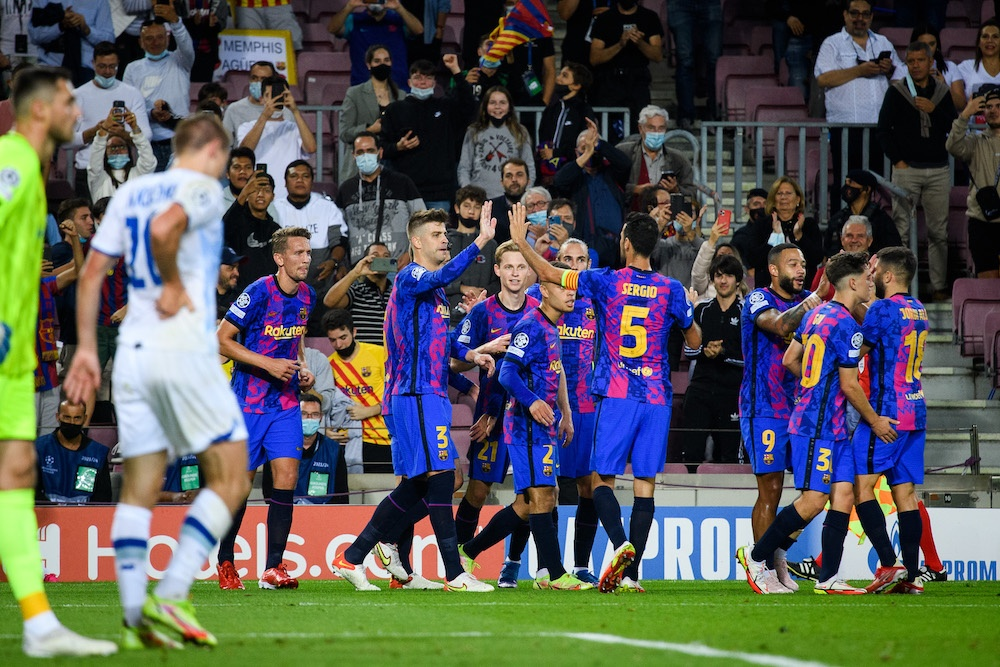 barça dinamo liga de campeones champions league